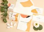 Partecipazione e bomboniera portaconfetti Arancione