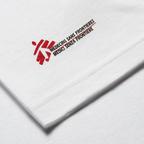 T-shirt unisex bianca con omino MSF