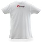 T-shirt bimbo bianca
