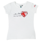 T-shirt donna con Cuore
