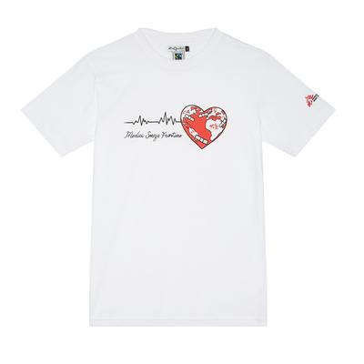 T-shirt unisex con Cuore