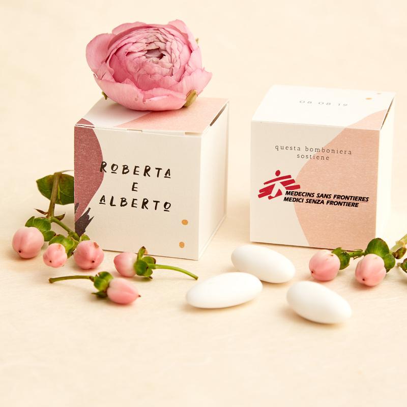 Bomboniera Colorata Rosa