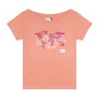 T-shirt donna VISAS rosa corallo