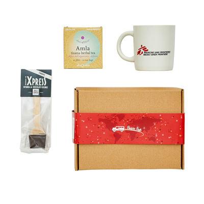 Scatola MSF con tazza mug